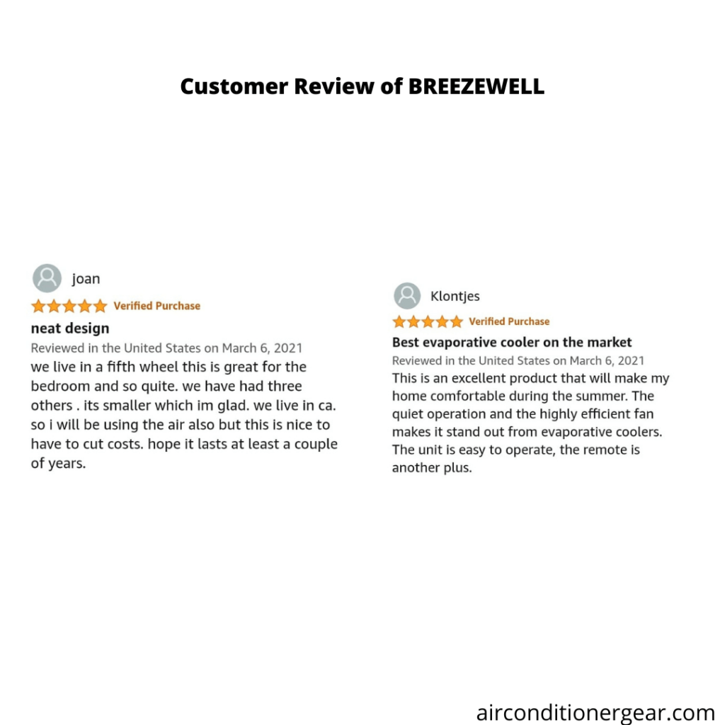 Review of BREEZEWELL