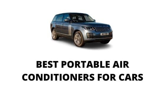 Portable air conditioners for cars