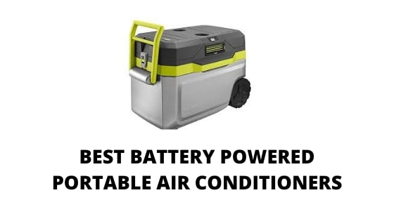 05 Best Battery Powered Portable air conditioners